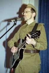 Юрий Давыдов в образе солдата
